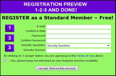 Easy to Register